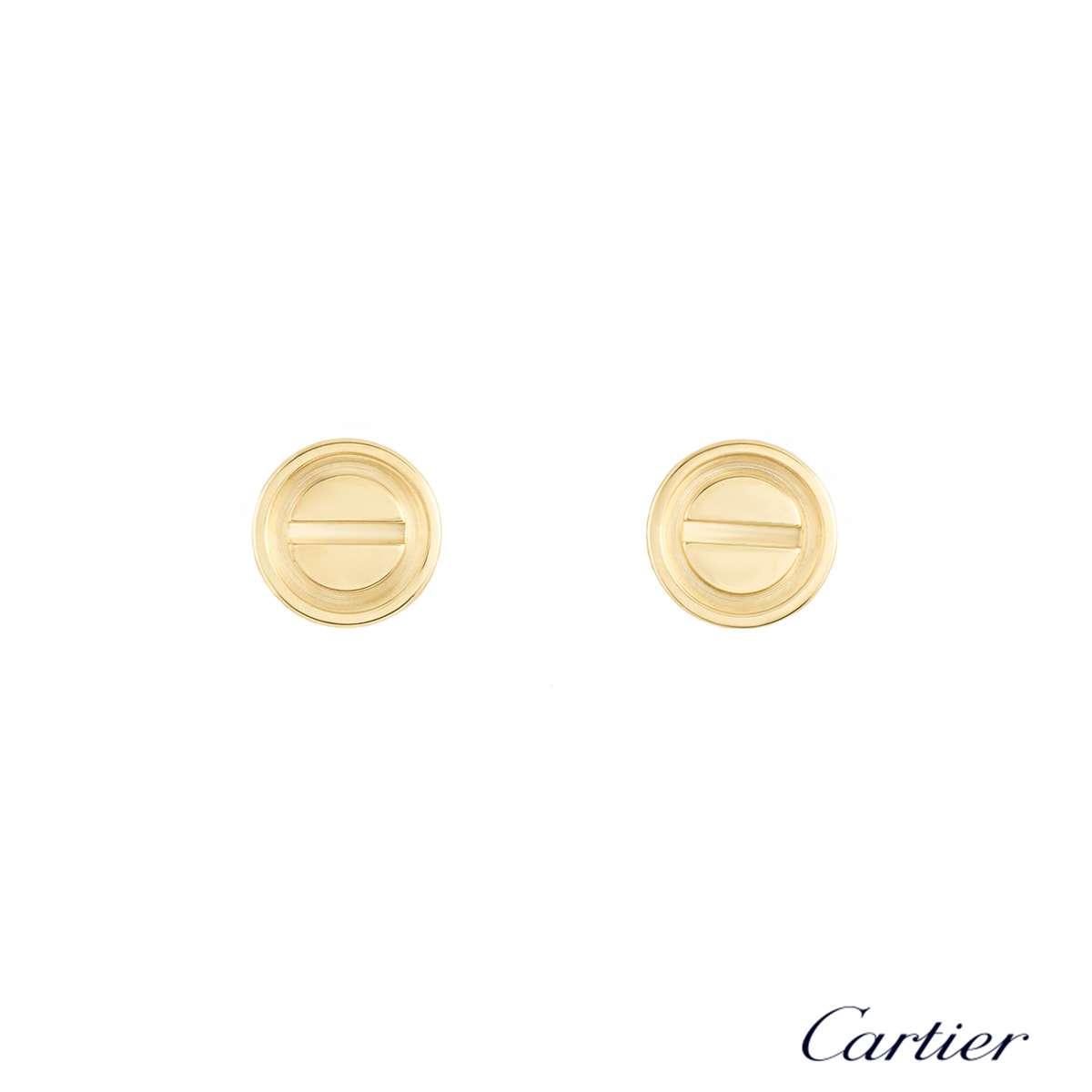Cartier Love Yellow Gold Studs